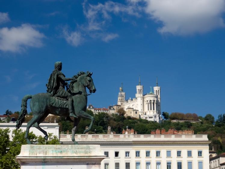 Louis XIV place Bellecour